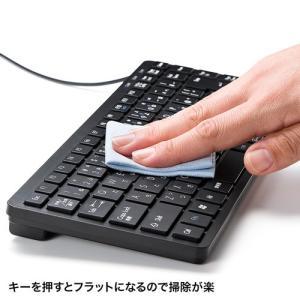 訳あり新品 USBスリムキーボード ブラック SKB-SL27BK サンワサプライ 箱にキズ、汚れあり ネコポス非対応|esupply|04