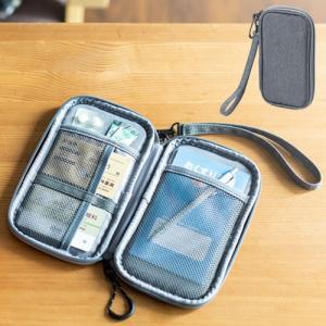 トラベルポーチ 小物 薬 パスポート コンパクト 収納 便利 おすすめ EEX-BGP04 ネコポス...