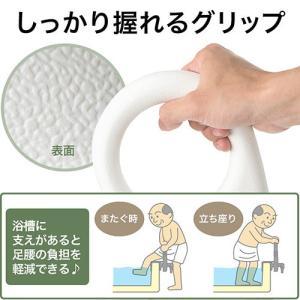風呂用手すり 浴槽 入浴補助 立ち上がり補助 支え グリップ 介護 敬老の日 プレゼント EEX-SUPA01B TAISコード 01721-000002 ネコポス非対応|esupply|02