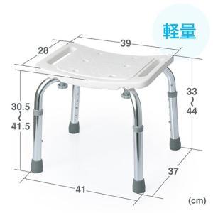 シャワーチェア 風呂 椅子 ベンチ 高さ調節 軽量 入浴補助 介護 敬老の日 プレゼント EEX-SUPA02A TAISコード 01721-000003 ネコポス非対応 esupply 06