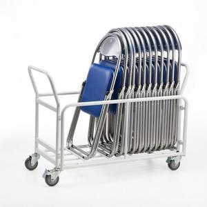 折りたたみ椅子用台車  会議イス用 パイプイス用 キャスター付き 移動・収納用 EZ1-SNC037CART ネコポス非対応 esupply 04