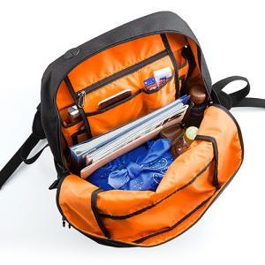 リュック 大容量 通学 通勤  メンズ 耐水 iPad・PC収納 A4サイズ対応 スクエアリュック バックパック ホワイト EZ2-BAGBP004W ネコポス非対応|esupply|04
