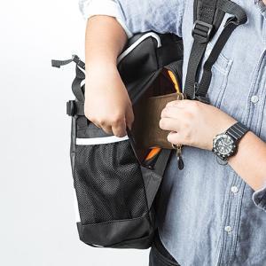 リュック 大容量 通学 通勤  メンズ 耐水 iPad・PC収納 A4サイズ対応 スクエアリュック バックパック ホワイト EZ2-BAGBP004W ネコポス非対応|esupply|05