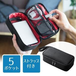 トラベルポーチ 小物収納ポーチ 充電器・ACアダ...の商品画像