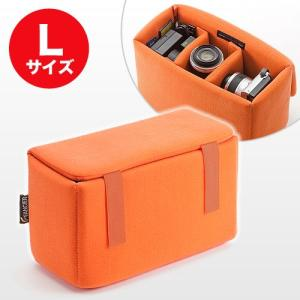 インナーカメラバッグ(ソフトクッションボックス・ワイドサイズ) EZ2-BG019L ネコポス非対応 esupply
