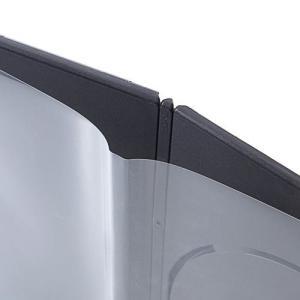 DVDトールケース 2枚収納 スリムタイプ 厚さ7mm  100枚入り ブラック EZ2-FCD040BK-100 ネコポス非対応|esupply|07
