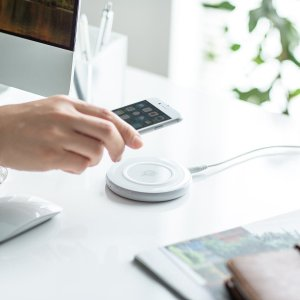 ワイヤレス充電器 Qi対応 急速充電 9W充電対応 薄型 最大15W 充電パッド iPhone・XPERIA XZ2・Galaxy S9 EZ7-WLC002 ネコポス非対応|esupply|19