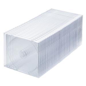 DVD・CDケース(30枚セット・クリア・10mm) FCD-PN30C サンワサプライ