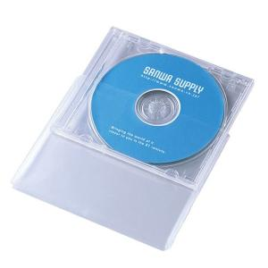 CDケース保護袋 30枚入り 10mmサイズ用 FCD-PT30N サンワサプライ