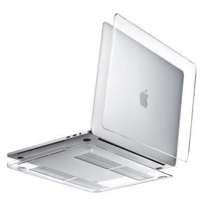 MacBook Proハードシェルカバー クリア MacBo...
