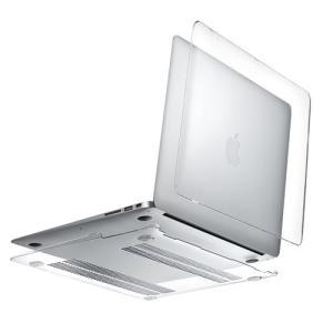 MacBook Air 13インチ用薄型・高透明のハードシェルカバー。美しさをそのまま楽しめるクリア...