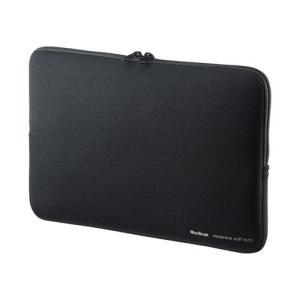 保護力に優れたネオプレン素材のMacBook Air 11.6インチ専用インナーケース。ブラック