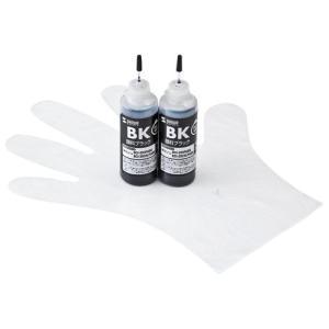 詰め替えインク キヤノン BCI-350PGBK 顔料ブラック 約12回分 インクのみ  INK-C...