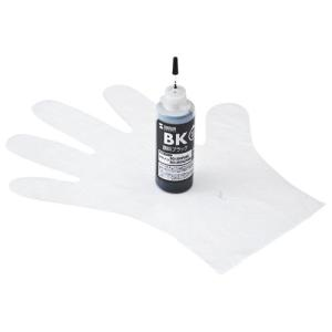 詰め替えインク キヤノン BCI-350PGBK 顔料ブラック 約6回分 インクのみ INK-C35...