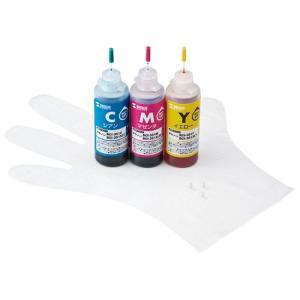 詰め替えインク キヤノン BCI-351C・351M・351Y  3色 各約10回分 インクのみ I...