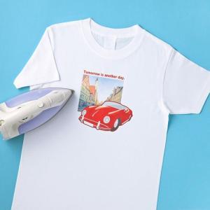 インクジェット用アイロンプリント紙 白布用 アイロン転写紙 Tシャツプリント JP-TPR7 サンワ...
