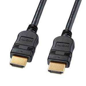 ハイスピードHDMIケーブル 2m イーサネット対応 ブラック KM-HD20-20TK2 サンワサプライ