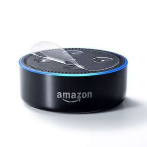 Amazon echo Dot(第2世代)の上面部分に貼れる、抗ウイルス・抗菌機能付き保護シール。