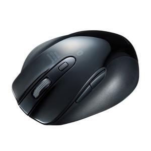 Bluetoothマウス ブルーLED 5ボタン ブラック MA-BTBL120BK サンワサプライ...