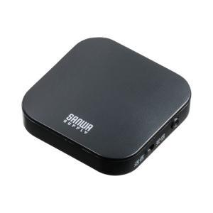 切り替えスイッチで受信機にも送信機にもなるBluetoothオーディオトランスミッター&レシーバー。...