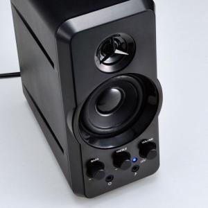 スピーカー 高音ツィーター搭載 出力20W  MM-SPL6BK サンワサプライ ネコポス非対応|esupply|05