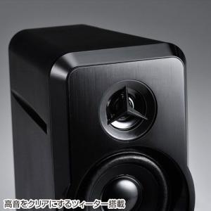 スピーカー 高音ツィーター搭載 出力20W  MM-SPL6BK サンワサプライ ネコポス非対応|esupply|06