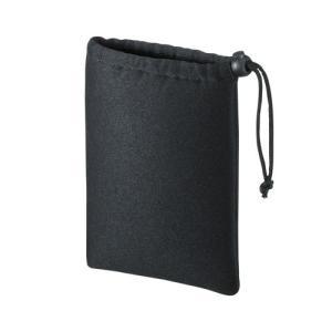 アウトレット マルチクッションケース(Sサイズ・巾着タイプ・ブラック) out-IN-C1K 返品・交換不可 ネコポス対応