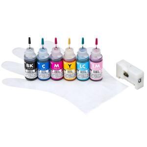 アウトレット エプソン ICBK70・ICC70・ICM70・ICY70・ICLC70・ICLM70 (6色) 詰め替えインク(リセッター付き) out-INK-E70S30S6U  返品・交換不可 ネコポス非|esupply