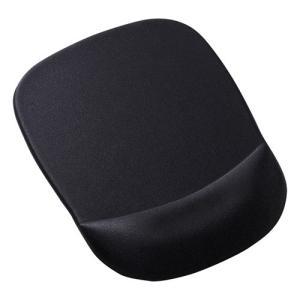 アウトレット  低反発リストレスト付きマウスパッド(ブラック) out-MPD-MU1NBK 返品・交換不可 ネコポス非対応|esupply