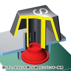 日本語109キーボード USB接続 有線 シンプル テンキーあり メンブレン ブラック SKB-109LUBKN サンワサプライ ネコポス非対応|esupply|05