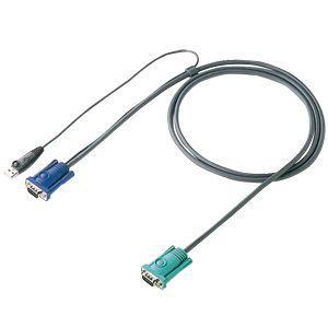 パソコン切替器用ケーブル 1.8m SW-KVM2LUN・SW-KVM4LUN専用 SW-KLU180 サンワサプライ ネコポス非対応|esupply