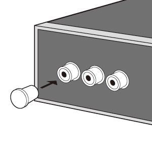 AV機器のコネクタをホコリや酸化から守るAVジャックキャップ ピンジャック用  TK-CAP1 サンワサプライ ネコポス対応 esupply 02
