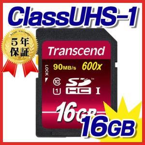 SDHCカード 16GB UHS-1 Class10  SDカード TS16GSDHC10U1 トランセンド Transcend社製