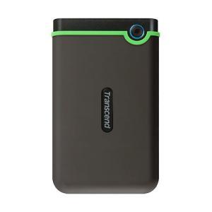 スリムポータブルHDD 500GB  2.5インチ  USB3.1 耐衝撃 トランセンド製 Tran...