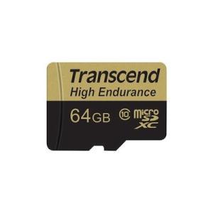 microSDXCカード 64GB Class10 高耐久 ドライブレコーダー向け SDカード変換アダプタ付 TS64GUSDHC10V トランセンド製 Transcend ネコポス対応|esupply|02