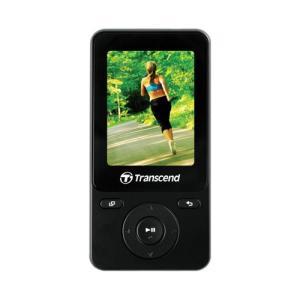 MP3プレーヤー オーディオプレーヤー  8GB スポーツ エクササイズ用 ブラック TS8GMP710K トランセンド製 Transcend