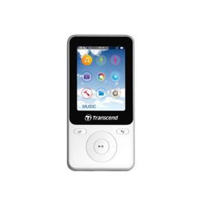 MP3プレーヤー  オーディオプレーヤー  8GB スポーツ エクササイズ用 TS8GMP710W  トランセンド製 Transcend ネコポス非対応|esupply