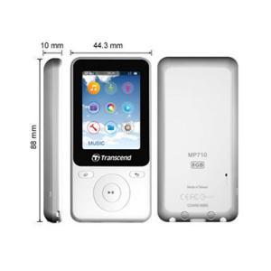MP3プレーヤー  オーディオプレーヤー  8GB スポーツ エクササイズ用 TS8GMP710W  トランセンド製 Transcend ネコポス非対応|esupply|06