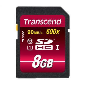 SDHCカード 8GB UHS-1 Class10 TS8GSDHC10U1 トランセンド Transcend ネコポス対応|esupply