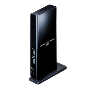 ドッキングステーション Type-C USB3.2A接続 デュアルHDMI 有線LAN USB-CVDK7 サンワサプライ|イーサプライ PayPayモール店