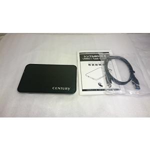 センチュリー USB3.1 Type-C接続 7mm厚 2.5インチ7mm厚SATA-HDD/SSD...