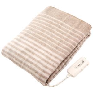 コイズミ 電気毛布 敷毛布 水洗い可能 130×80cm KDS-4061