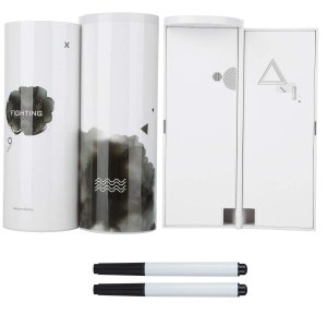 wulide ペンケース 筆箱 筒形 可愛い 文房具ボックス クリエイティブ 筆入れ 文具収納 ペン...