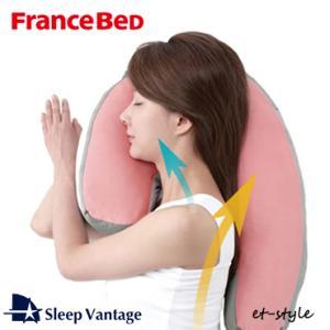 スリープバンテージ ピロー 枕 フランスベッド 横向き  プレゼント ギフト ラッピング 花柄
