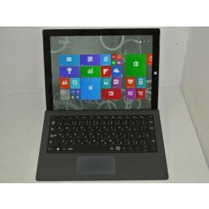 [美品][送料無料]マイクロソフト Surface Pro 3 128GB 6Y4-00015(Core i5 4300U/4GB/SSD128GB/Win8.1Pro搭載/マイクロソフト純正Type Cover付属)|et8
