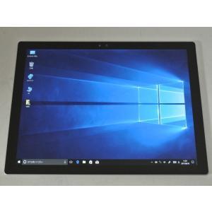 [美品][送料無料]マイクロソフト Surface Pro 4 CR5-00014(Core i5 6300U/4G/SSD128G/Win10Pro搭載)|et8