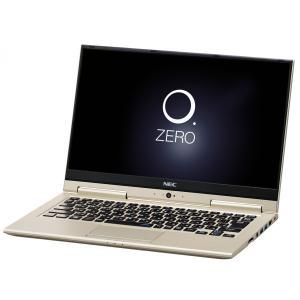 美品セール/NEC Refreshed PC LAVIE Hybrid ZERO HZ350/GAG PC-HZ350GAG[プレシャスゴールド] Office2016HB/メーカー保証1年/2017年春モデル/展示品/送料無料|et8