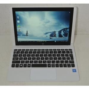 HP Pavilion x2 10-n133TU[ブリザードホワイト] Atom x5-Z8300(Cherry Trail)1.44GHz/4コア/2GB/eMMC64GB/Win10/Office365/中古美品/送料無料※6864|et8