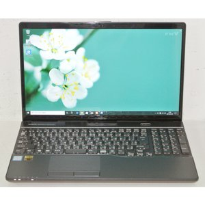 美品セール/最高峰 FMV LIFEBOOK AH53/C2 FMVA53C2B Core i7 8550U 1.8GHz 4コア/8G/新品M.2SSD250G+HDD1T/BD/FHD/Win10/OfficeHB2019/送料無料|et8