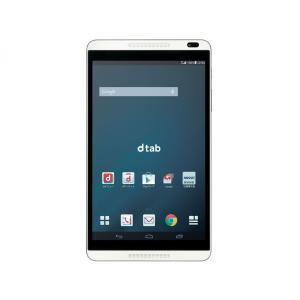 [新品] Huawei dtab d-01G docomo 白ロム シルバー LTE対応の8型Androidタブレット et8